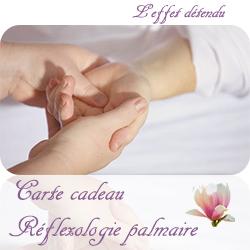 Carte Cadeau Réflexologie palmaire