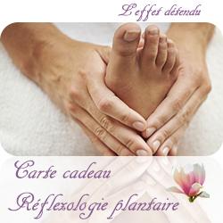 Carte Cadeau Réflexologie plantaire