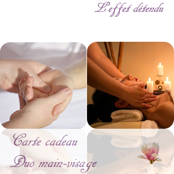 Carte cadeau Duo main-visage