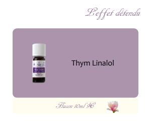 L'huile essentielle Thym Linalol (10ml)