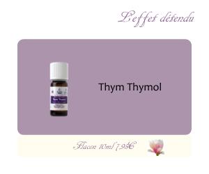 L'huile essentielle Thym Thymol (10ml)