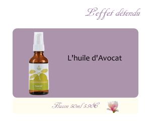 L'huile végétale d'Avocat