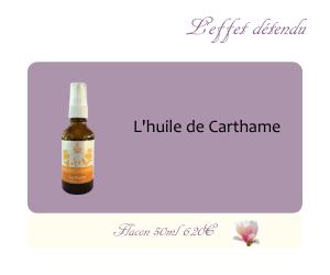 L'huile végétale de Carthame
