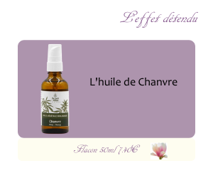 L'huile végétale de Chanvre