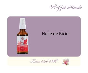 L'huile végétale de Ricin