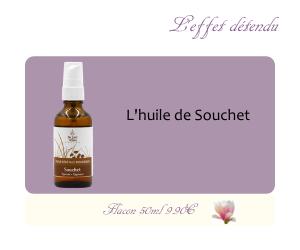 L'huile végétale de Souchet