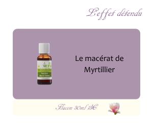 Le macérat de Myrtillier