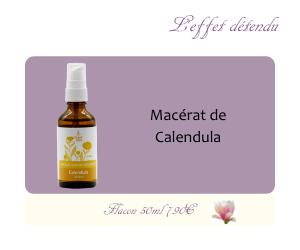 Le macérat huileux de Calendula