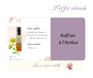 Le Roll'on à l'Arnica