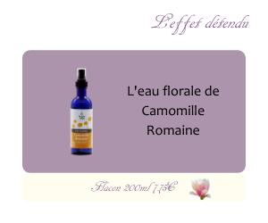 L'eau florale de Camomille Romaine