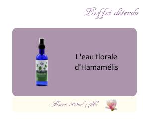 L'eau florale d'Hamamélis