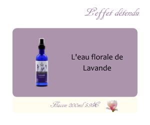L'eau florale de Lavande