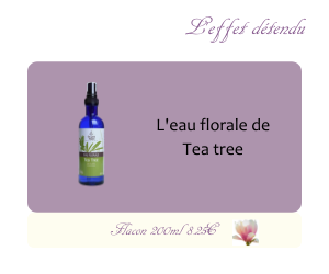 L'eau florale de Tea Tree