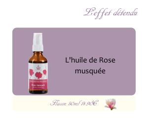L'huile végétale de Rose musquée
