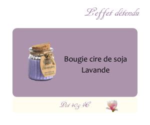 Bougie cire de soja Grenade